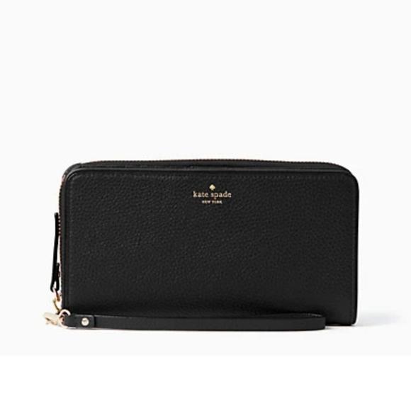 kate spade Handbags - Kate Spade Black Mulberry Street Brigitta Wallet